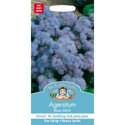 Seminte AGERATUM houstonianum Blue Mink - Pufuleti