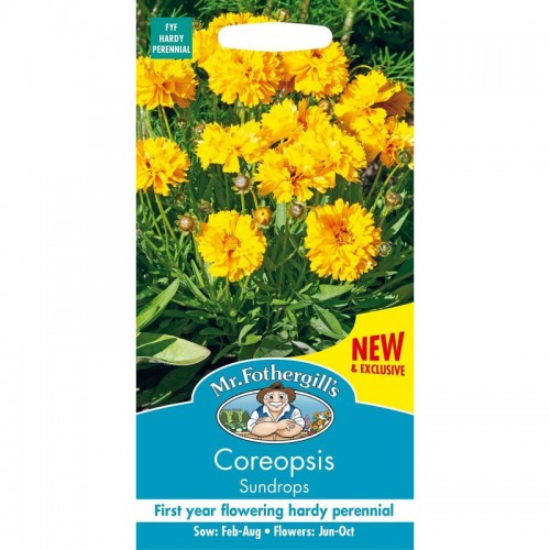 Seminte COREOPSIS grandiflora Sundrops-Lipscanoaie