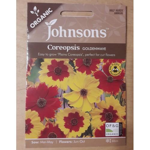 Seminte COREOPSIS tinctoria Goldenwave - Lipscanoaice