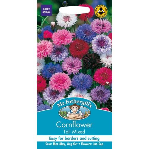 Seminte CENTAUREA Cornflower Tall Mixed - Albastrele inalte amestec