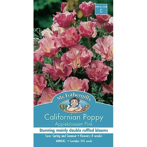Seminte ESCHSCHOLTZIA californica Appleblossom Pink-Mac californian