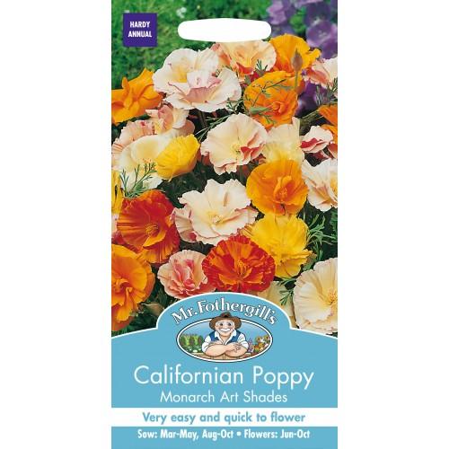 Seminte ESCHSCHOLTZIA californica Monarch Art - Mac Californian
