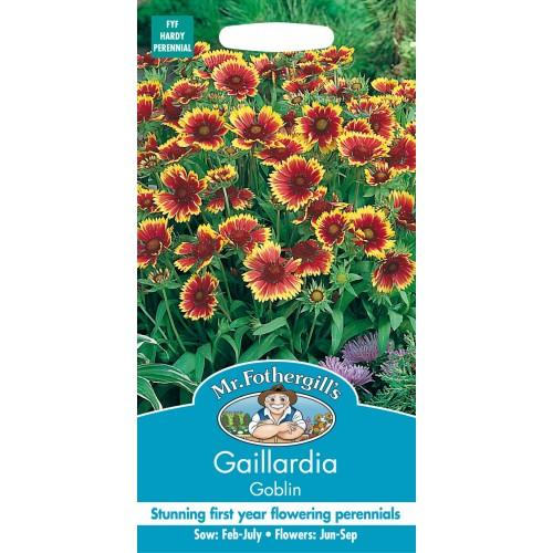 Seminte GAILLARDIA grandiflora Goblin - Fluturasi