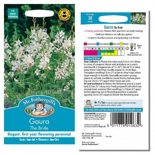 Seminte GAURA lindheimeri The Bride-Floarea albinei