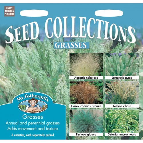 Seminte Grasses COLLECTION - Colectie ierburi decorative 6 specii