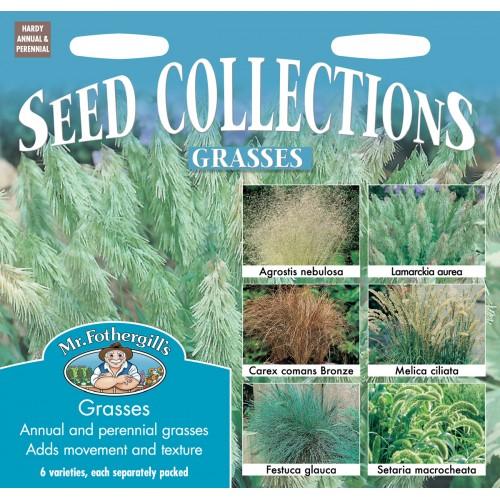 Seminte Grasses COLLECTION - Colectie ierburi decorative 6 specii