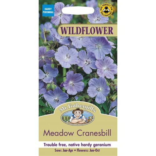 Seminte GERANIUM pratense Cranesbill - Ciocul-berzei bleu