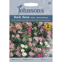 Seminte HELIANTHEMUM nummularium Rock Rose Mixed - Trandafir de Stanca