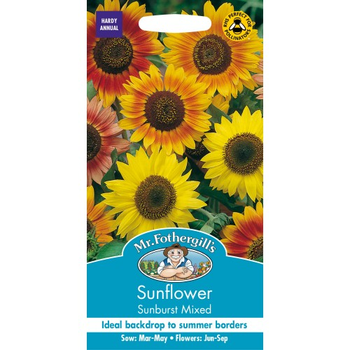 Seminte HELIANTHUS annuus-Sunflower- Sunburst Mixed - Floarea Soarelui