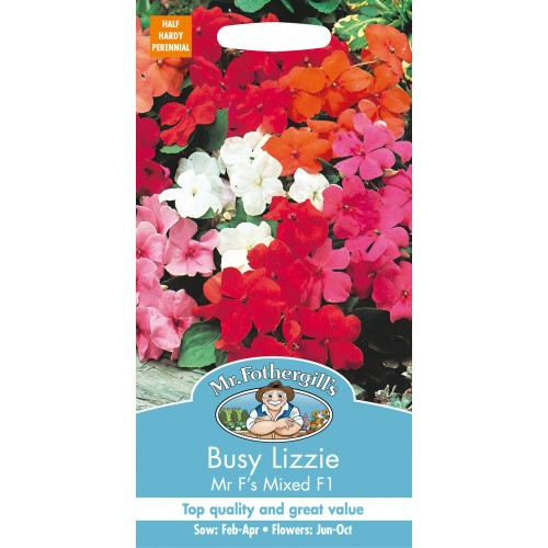 Seminte IMPATIENS walleriana Mr F's Mixed F1 - Sporul Casei