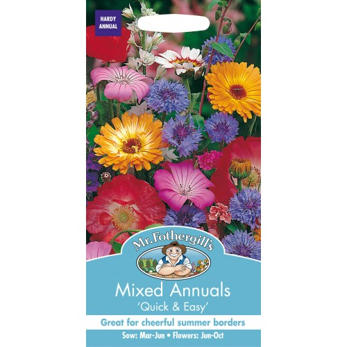 Seminte MIXED annuals Quick & Easy- Amestec flori anuale