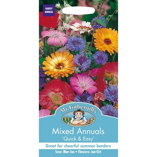 Seminte MIXED annuals Quick & Easy- Amestec flori anuale