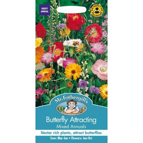 Seminte MIXED annuals Butterfly Attracting-Amestec de flori melifere
