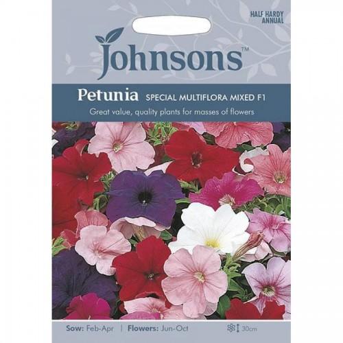 Seminte PETUNIA multiflora- Special Multiflora F1 Mixed-Petunia