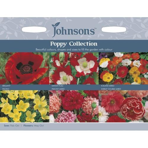 Seminte PAPAVER-Poppy- Collection - Colectie 6 soiuri de mac