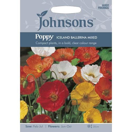 Seminte PAPAVER-Poppy- nudicaule Iceland Mixed - Mac peren