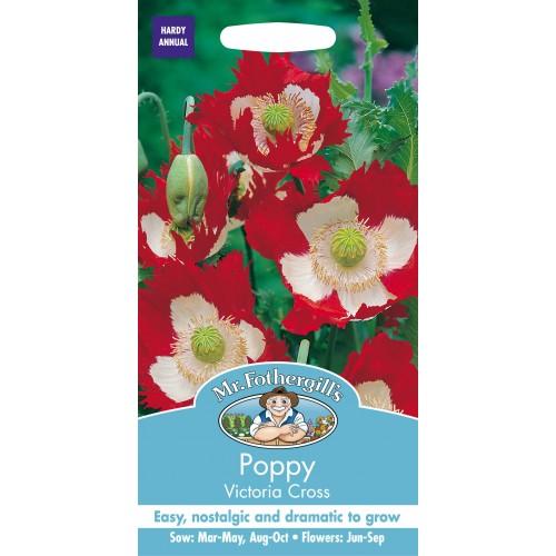 Seminte PAPAVER somniferum-Poppy- Victoria Cross - Mac