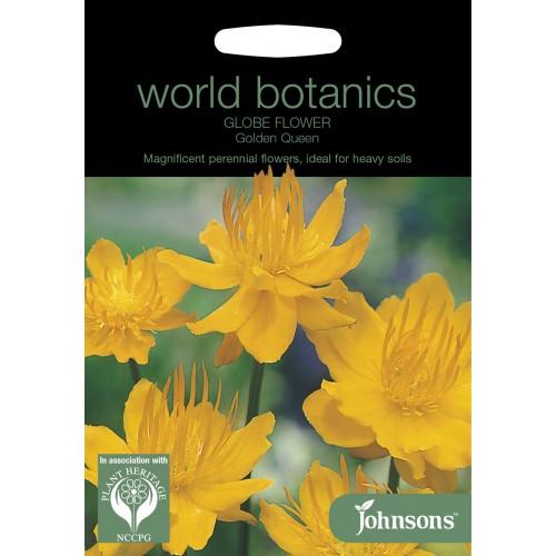 Seminte TROLLIUS chinensis -Globe Flower- Golden Queen