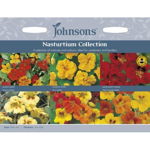 Seminte TROPAEOLUM-Nasturtium- Collection  - Colectie caltunasi 6 soiuri