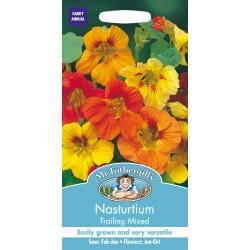 Seminte TROPAEOLUM-Nasturtium- majus Trailing Mixed - Caltunasi curgatori comestibili