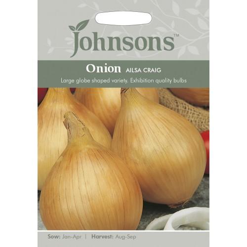 Seminte ALLIUM cepa-Onion- Ailsa Craig - Ceapa alba mare de iarna