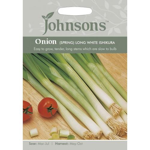 Seminte ALLIUM fistulosum-Onion Spring- Long White Ishikura - Ceapa perena,  asiatica, de primavara