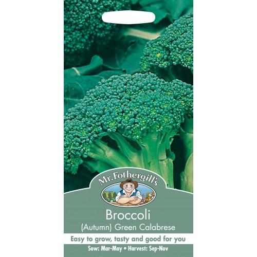Seminte BRASSICA-Broccoli- oleracea botrytis Green Calabrese - Broccoli verde