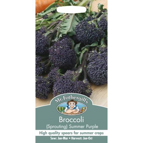 Seminte BRASSICA oleracea italica Summer Purple - Broccoli mov