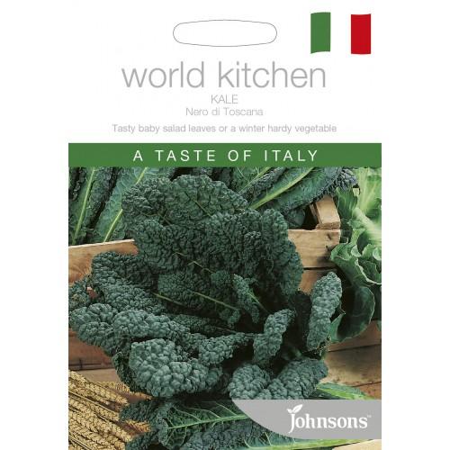 Seminte BRASSICA-Kale- oleracea acephala Nero di Toscana  - Varza de frunze, neagra, rezistenta la frig