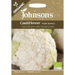 Seminte BRASSICA-Cauliflower- oleracea botrytis Flora Blanca ORG-Conopida