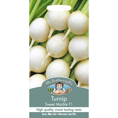 Seminte BRASSICA rapa-Turnip- Sweet Marble F1 - Nap turcesc