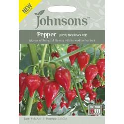 Seminte CAPSICUM annuum-Hot Pepper-Biquino Red-Ardei iute