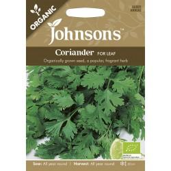 Seminte CORIANDRUM sativum For Leaf ORG-Coriandru de frunze