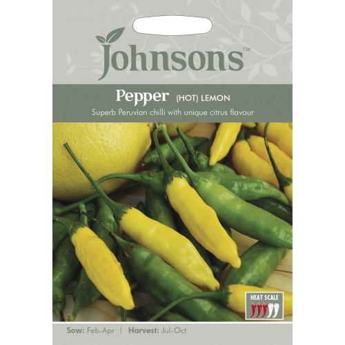 Seminte CAPSICUM annuum-Hot Pepper-Lemon  - Ardei iute cu aroma citrata