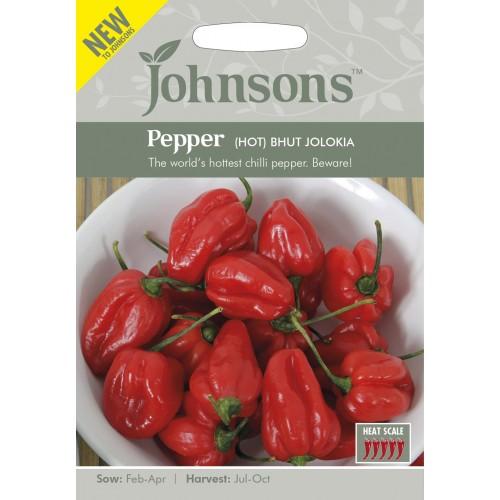 Seminte CAPSICUM annuum-Hot Pepper-Bhut Jolokia  - Amestec de ardei iuti de la mediu la iute si foarte iute