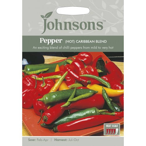 Seminte CAPSICUM annuum-Hot Pepper-Caribbean Blend - Ardei iute