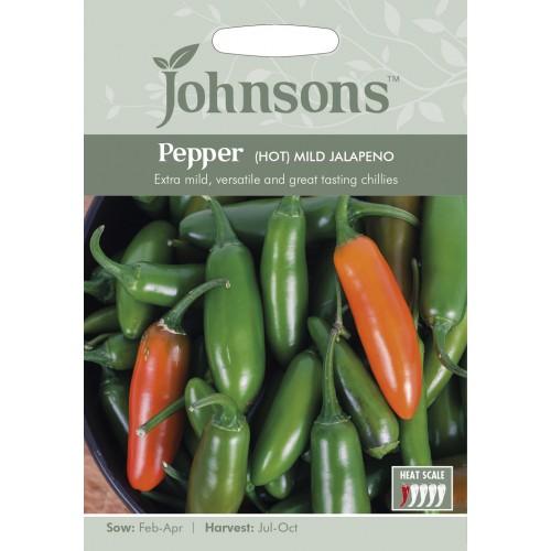 Seminte CAPSICUM annuum-Hot- Mild Jalapeno  - Ardei cu aroma de Jalapeno, dar mai putin iute