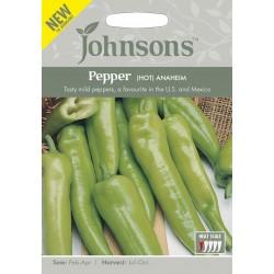 Seminte CAPSICUM annuum-Hot Pepper-Anaheim-Ardei iute verde