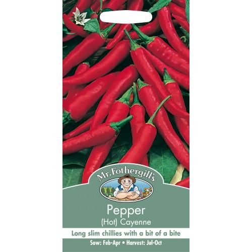 Seminte CAPSICUM annuum-Hot Pepper-De Cayenne  - Ardei iute pentru boia -30000-50000 SHU