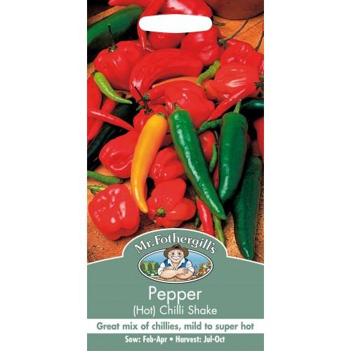 Seminte CAPSICUM annuum-Hot Pepper-Chilli Shake - Ardei iute