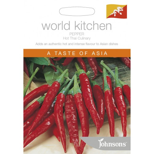 Seminte CAPSICUM annuum-Hot Pepper-Thai Culinary - Ardei iute