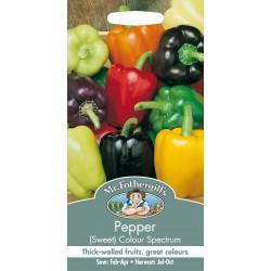 Seminte CAPSICUM annuum-Sweet Pepper-Colour Spectrum  - Ardei gras amestec