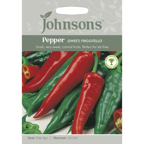 Seminte CAPSICUM annuum-Sweet Pepper-Frigitello - Ardei dulce, tip capia