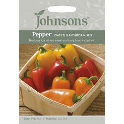 Seminte CAPSICUM annuum-Sweet Pepper-Lunchbox Mix  - Ardei dulce, amestec