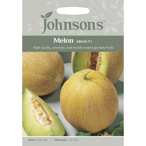 Seminte CUCUMIS melo Arava F1 - Pepene galben tip Galia -0,8-1,5 kg