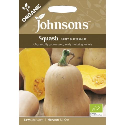 Seminte CUCURBITA-Squash- pepo Early Butternut ORG - Dovleac placintar, parfumat
