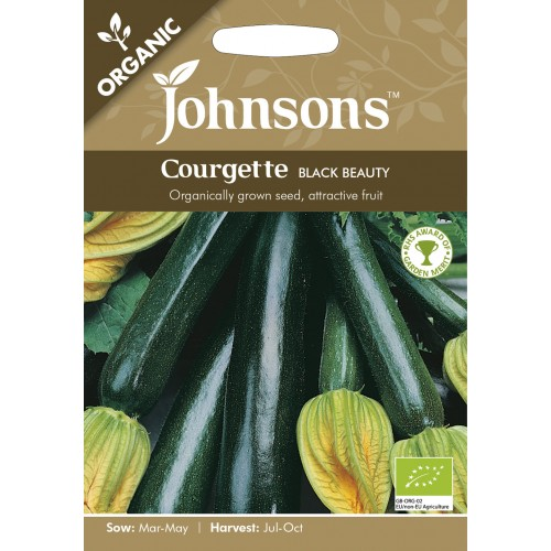 Seminte CUCURBITA-Courgette- pepo Black Beauty ORG - Dovlecel zucchini, negru (Organic)