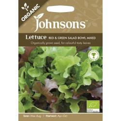Seminte LACTUCA sativa Red&Green Salad Bowl Mixed - Salata organica in amestec