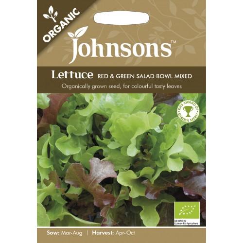 Seminte LACTUCA sativa-Lettuce-Red&Green Salad Bowl Mixed - Salata organica in amestec