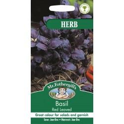 Seminte OCIMUM basilicum Red Leaved - Busuioc rosu aroma de cuisoare